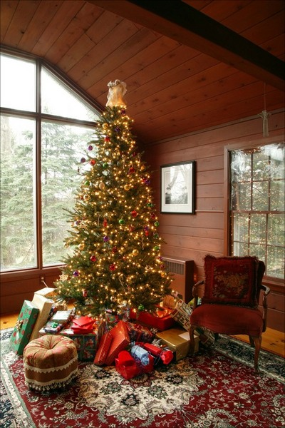 Christmas Tree Tax: Christmas Tree and presents.