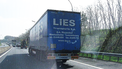 Lorry Load of Lies